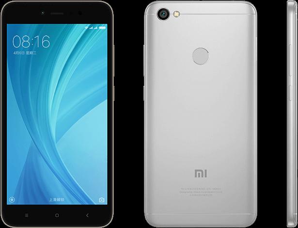 Redmi Note 5A Prime okostelefon - 4+64GB, szürke