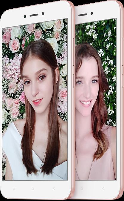 Redmi Note 5A Prime okostelefon - 4+64GB, Rózsa-arany