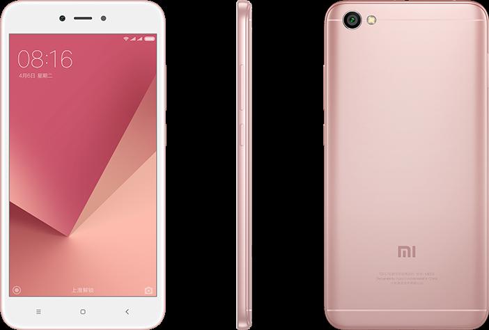 Redmi Note 5A Lite okostelefon - 2+16 GB, Rózsa-arany