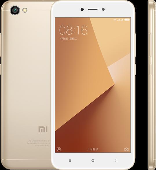 Redmi Note 5A Lite okostelefon - 2+16GB, arany, B20