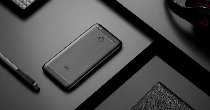 Redmi 4X okostelefon - 4+64GB, fekete