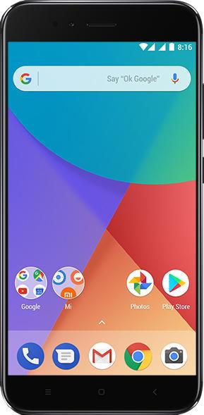 Mi A1 okostelefon - 4+64GB, fekete B20
