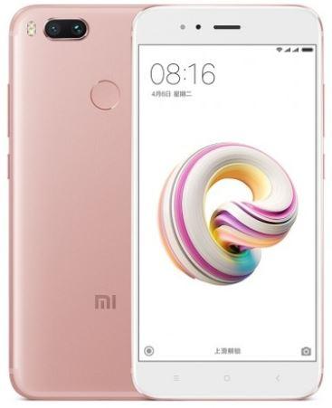 Mi 5X okostelefon - 4+64GB, rózsaszín
