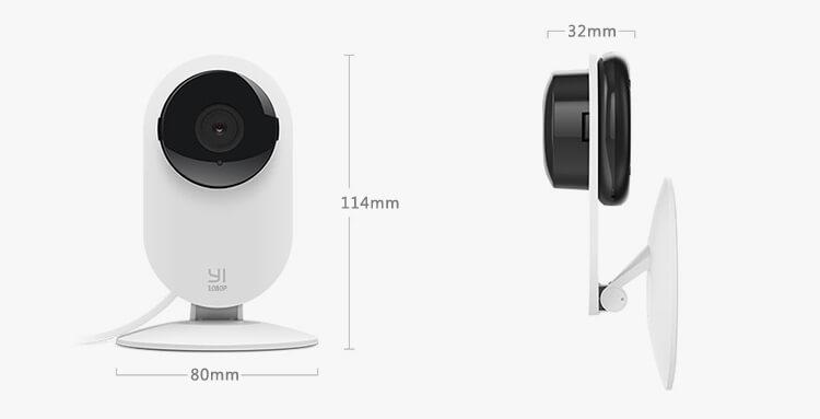 Yi Home Camera 1080p, éjjellátó okoskamera - fehér