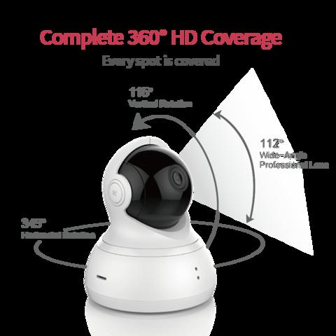 Yi Dome Camera 1080p - fehér