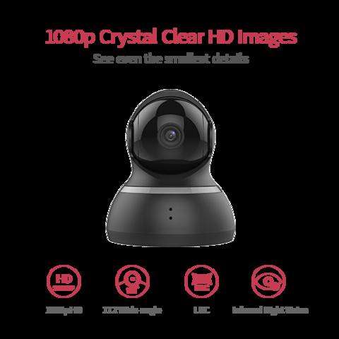 Yi Dome Camera 1080p - fekete