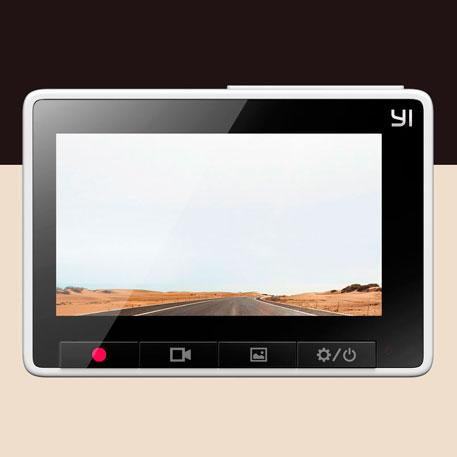 Yi Smart Dash Camera, autós eseményrögzítő kamera - szürke