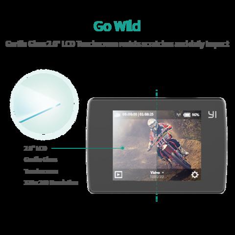 Yi Lite Action WiFi akciókamera - fekete