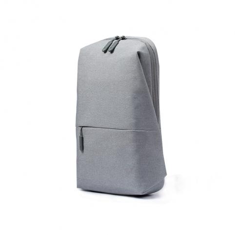 Xiaomi Mi City Sling Bag keresztpántos hátizsák - világosszürke