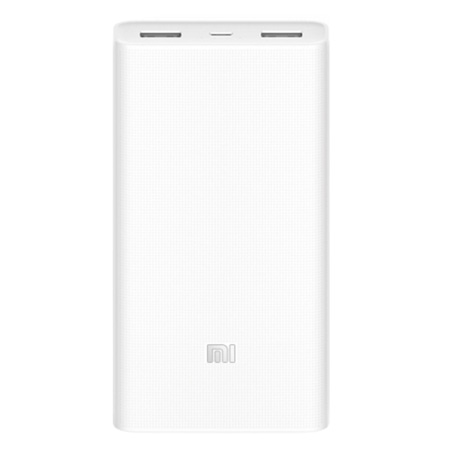 Baterie externă Power Bank 2C 20000mAh - Alb