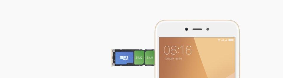 Redmi Y1 okostelefon - 3+64GB, arany