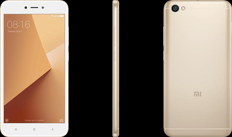 Redmi Y1 Lite okostelefon - 2+16GB, arany
