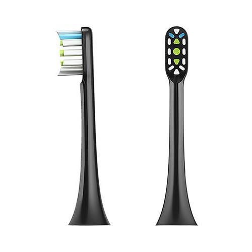 Fej Xiaomi Soocare X3 Smart elektromos fogkeféhez, fekete (2db)