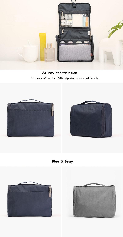 Mi kozmetikai táska, szürke