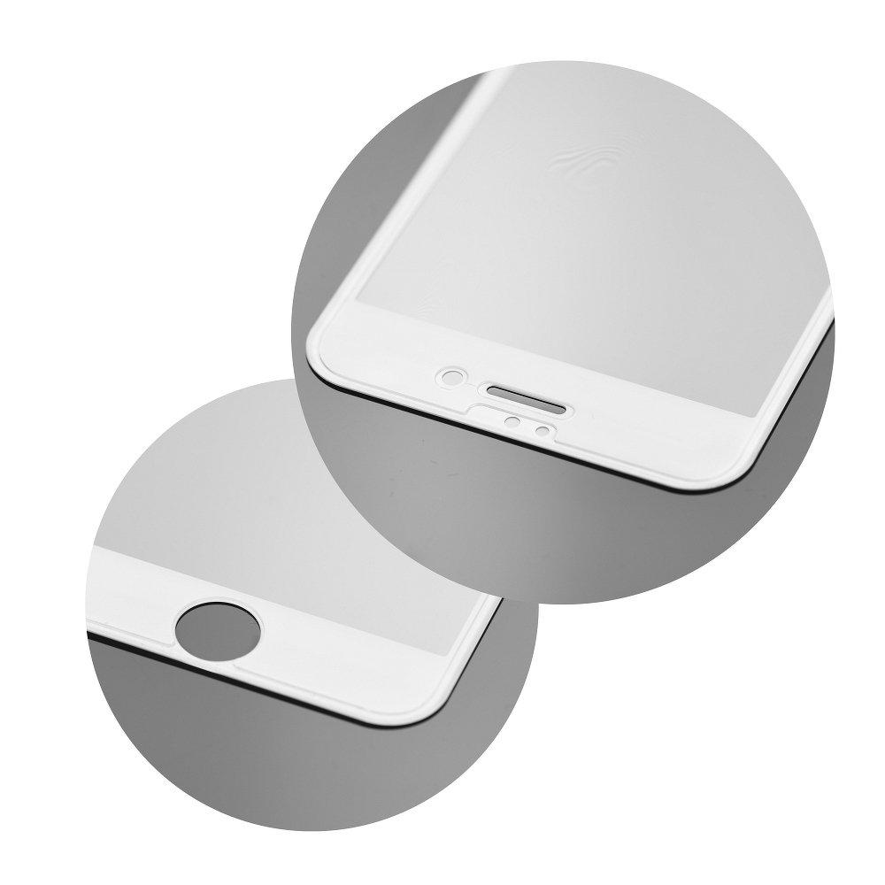 Redmi 4x - 3D kijelzővédő üveg - fehér keretes