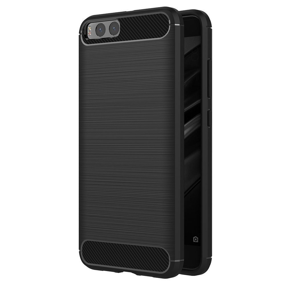 Mi 6 Forcell Carbon tok - fekete