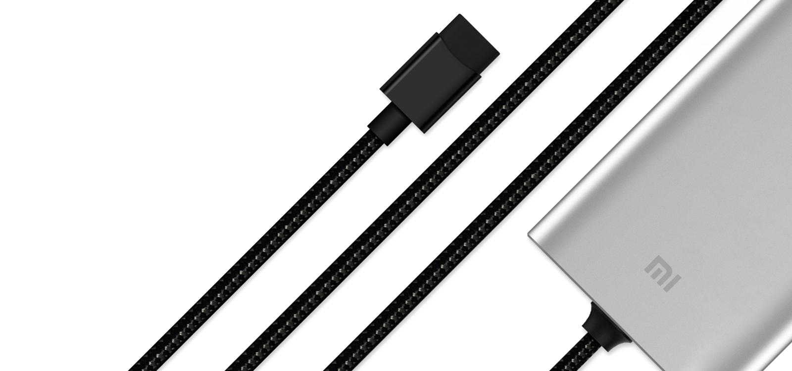 Xiaomi autós töltő Extended Hub (USB-A + USB-C)