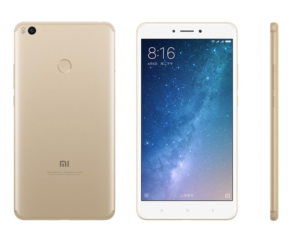 Mi Max 2 okostelefon - 4+32GB, arany