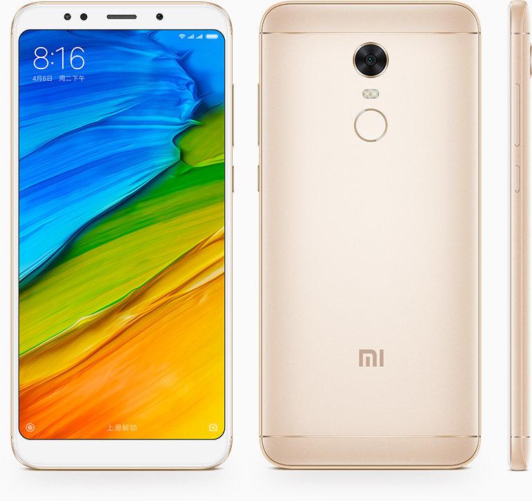 Redmi 5 Plus okostelefon - 4+64GB, arany B20