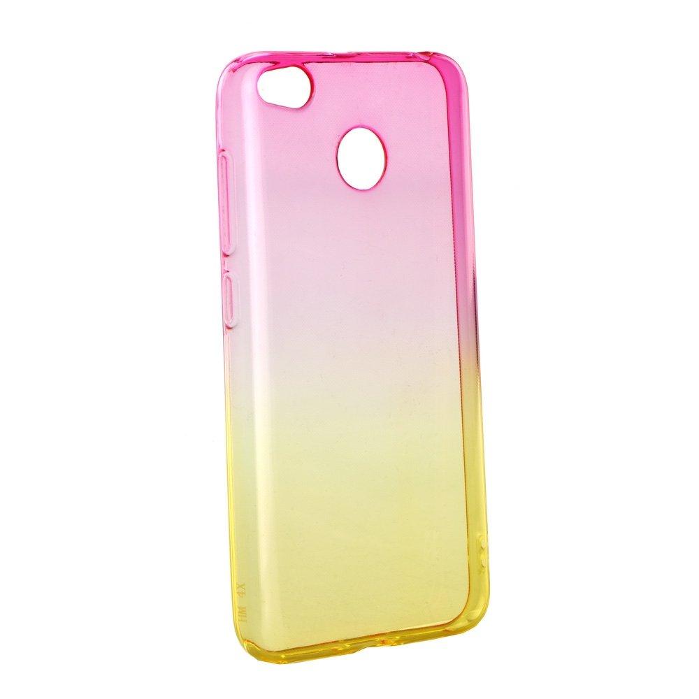 Redmi 4X Forcell OMBRE tok - rózsaszín-arany