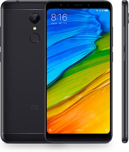 Redmi 5 okostelefon - 3+32GB, fekete - B20