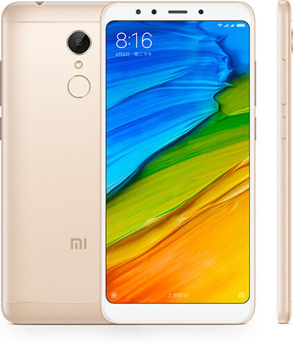 Redmi 5 okostelefon - 3+32GB, arany B20
