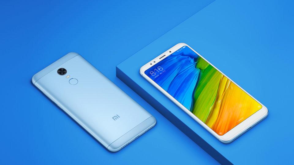 Redmi 5 Plus okostelefon - 3+32GB, kék