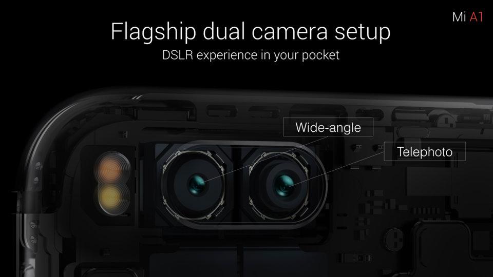 Mi A1 okostelefon - 4+32GB, rózsa-arany - B20