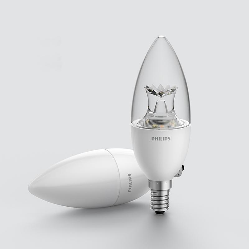 Xiaomi Philips ZhiRui Smart LED wifi bulb E14  okosizzó, matt