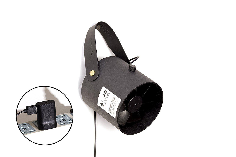 Xiaomi VH 2 USB ventilátor, fekete