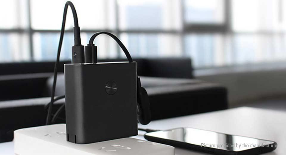 Xiaomi Zmi 6500mah Powerbank külső akkumlátor és QC3.0 töltő, fekete