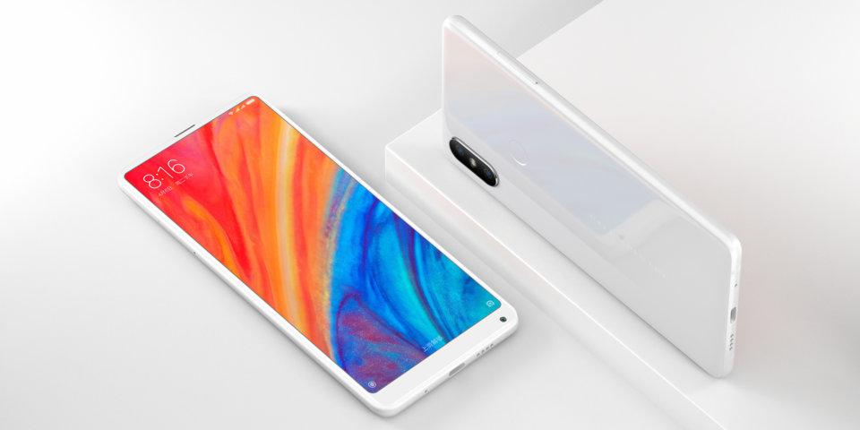 Mi MIX 2S okostelefon - 6+64GB, fehér