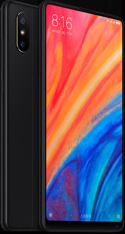 Mi MIX 2S okostelefon - 6+128GB, fekete