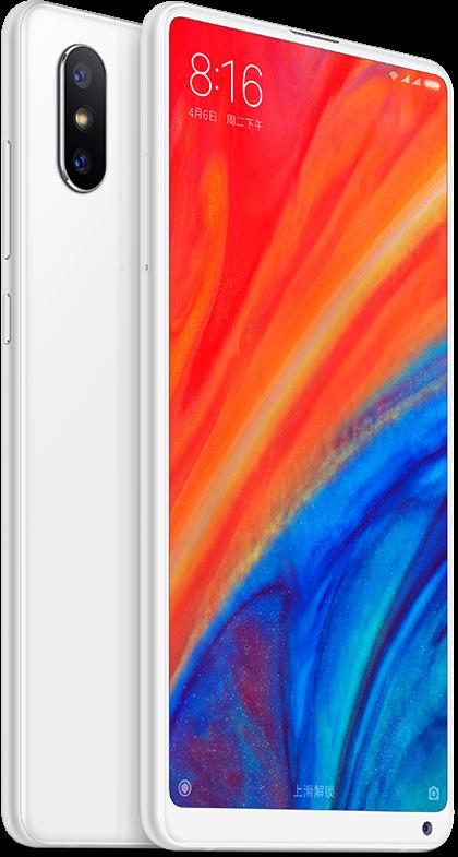 Mi MIX 2S okostelefon - 6+128GB, fehér