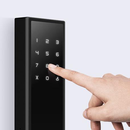 Xiaomi LOOCK Classic ujjlenyomat olvasó okos-zár, fekete