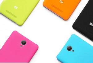 Redmi Note 2 Pro hátlap - sárga