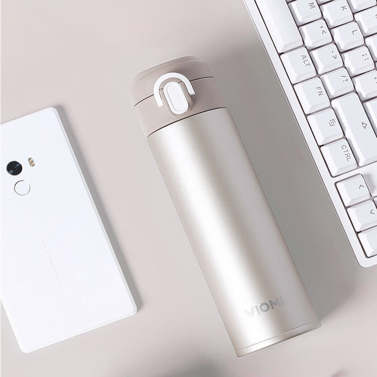Xiaomi VIOMI Stainless Steel termosz 460ml, arany