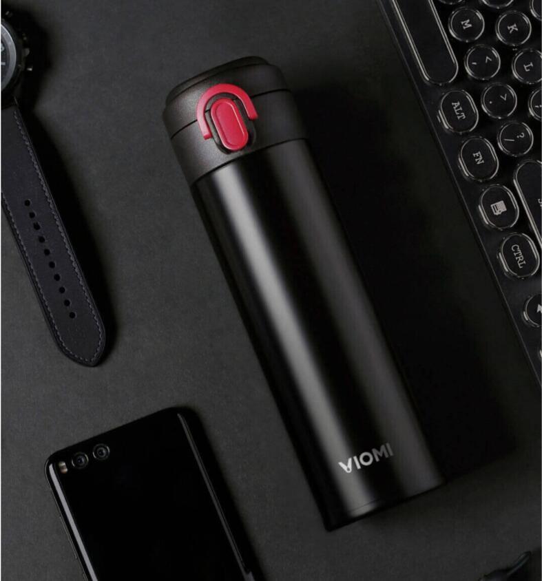 Xiaomi VIOMI Stainless Steel termosz 460ml, fekete