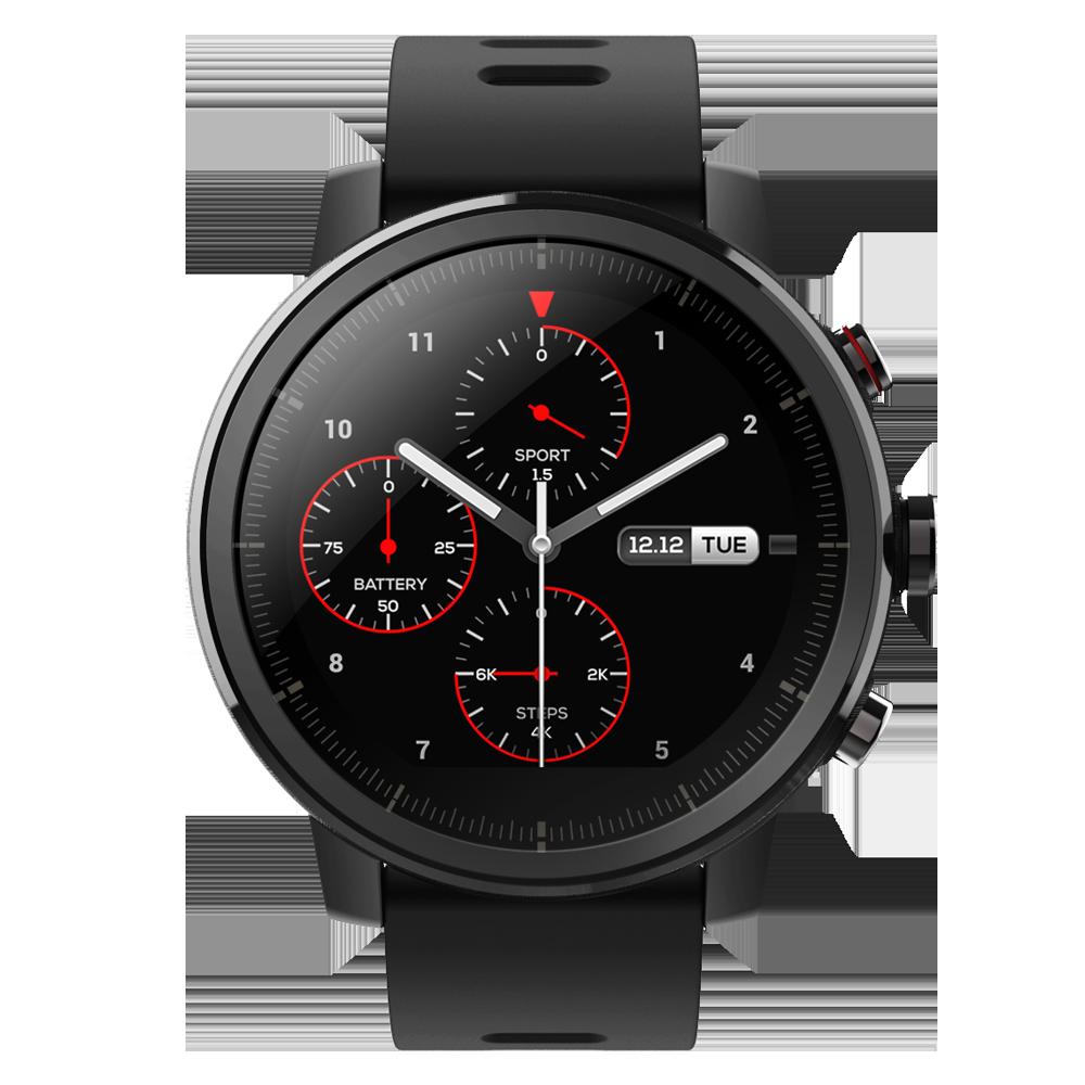 Smartwatch Amazfit Stratos  -  Neagră