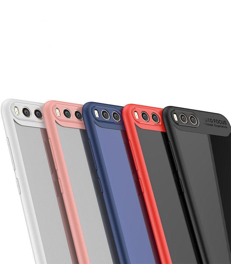 Redmi Note 5A Prime Ipaky tok, (szilikon keret-akril hátlap), piros