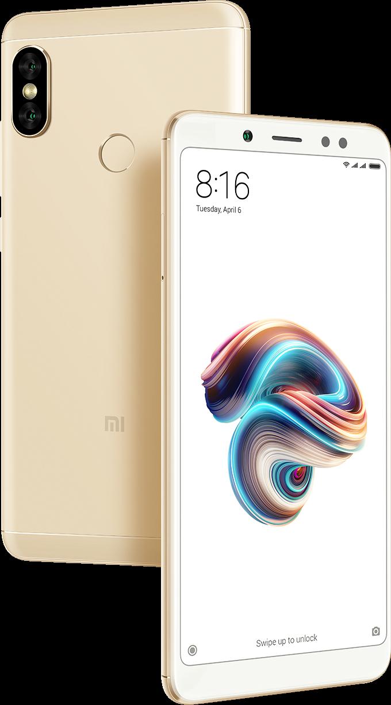 Redmi Note 5 okostelefon - 3+32GB, arany - B20