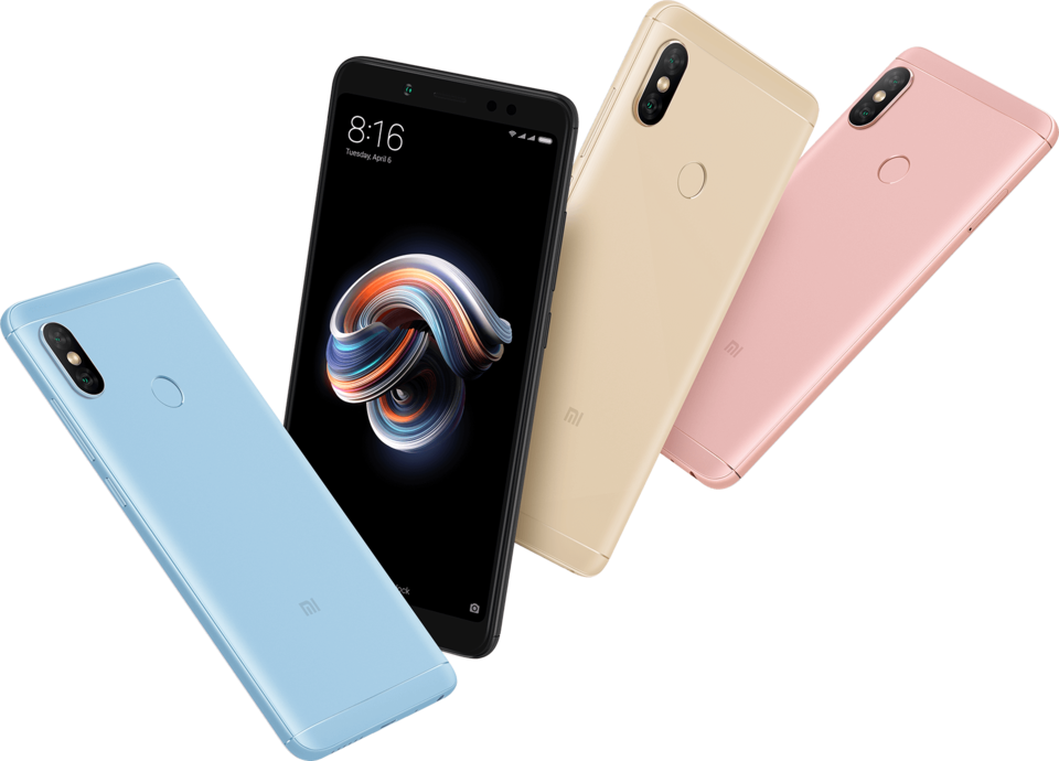 Redmi Note 5 okostelefon - 4+64GB, kék - B20