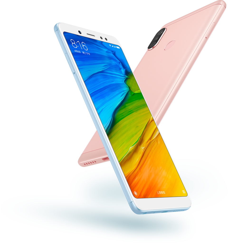 Redmi Note 5 okostelefon - 4+64GB, rozé - arany - B20