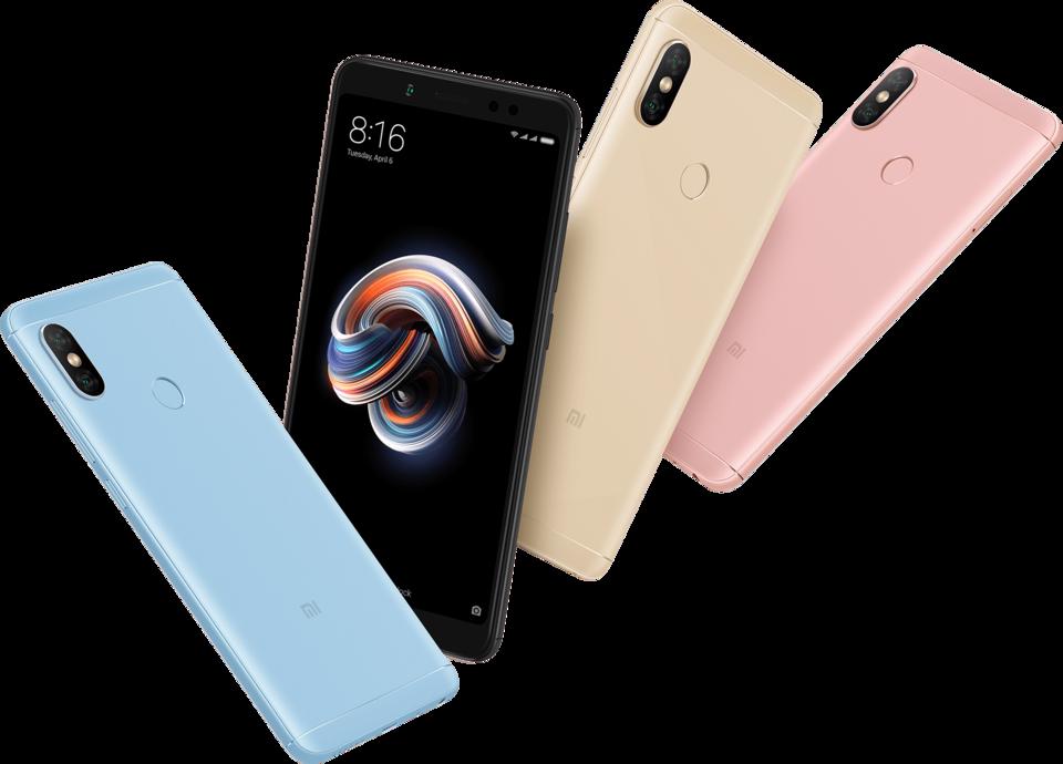 Redmi Note 5 okostelefon - 6+64GB, rozé - arany
