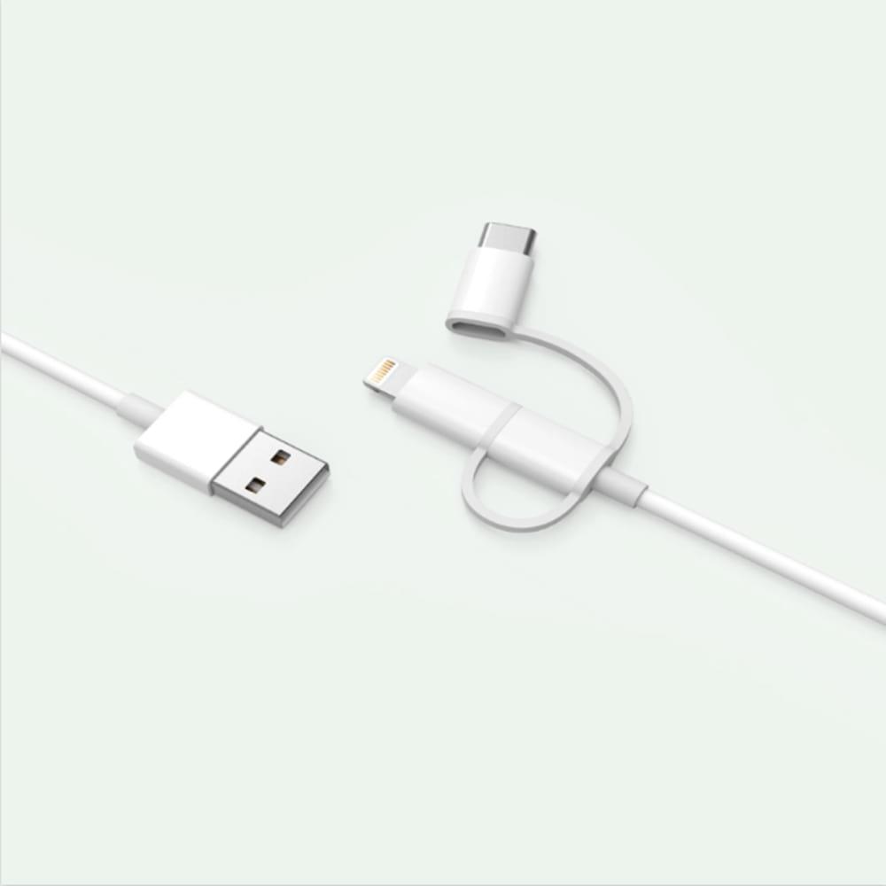 Xiaomi MiJia 3in1 kábel (Lightning,Type-c,Micro usb), 100cm