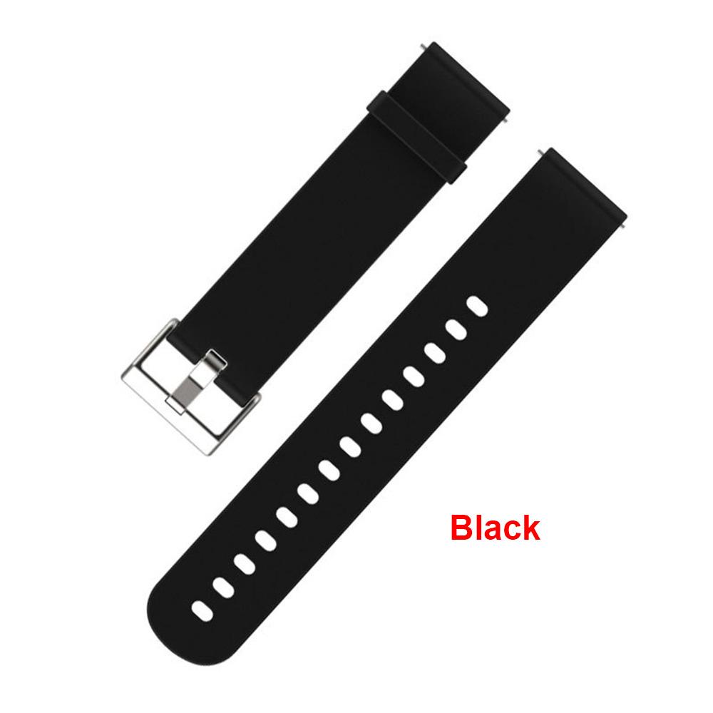 Curea silicon pentru smartwatch AMAZFIT Bip Lite Youth, Neagră