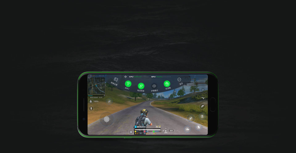Black Shark okostelefon 6+64GB - fekete