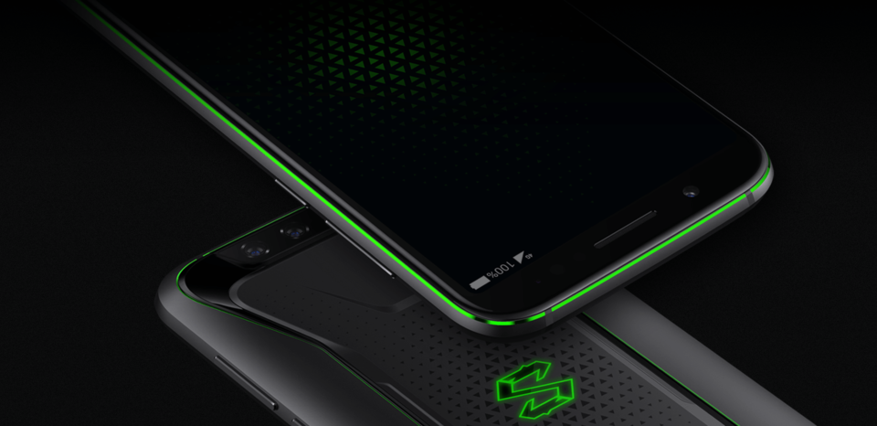 Black Shark okostelefon 8+128GB - fekete