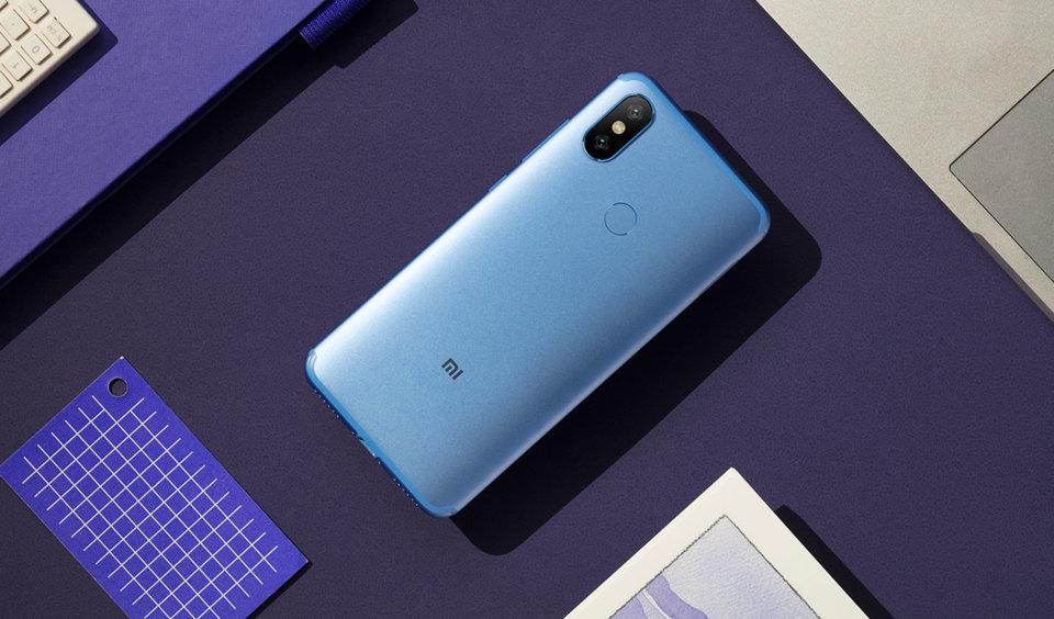 Mi 6X okostelefon 4+64GB, kék