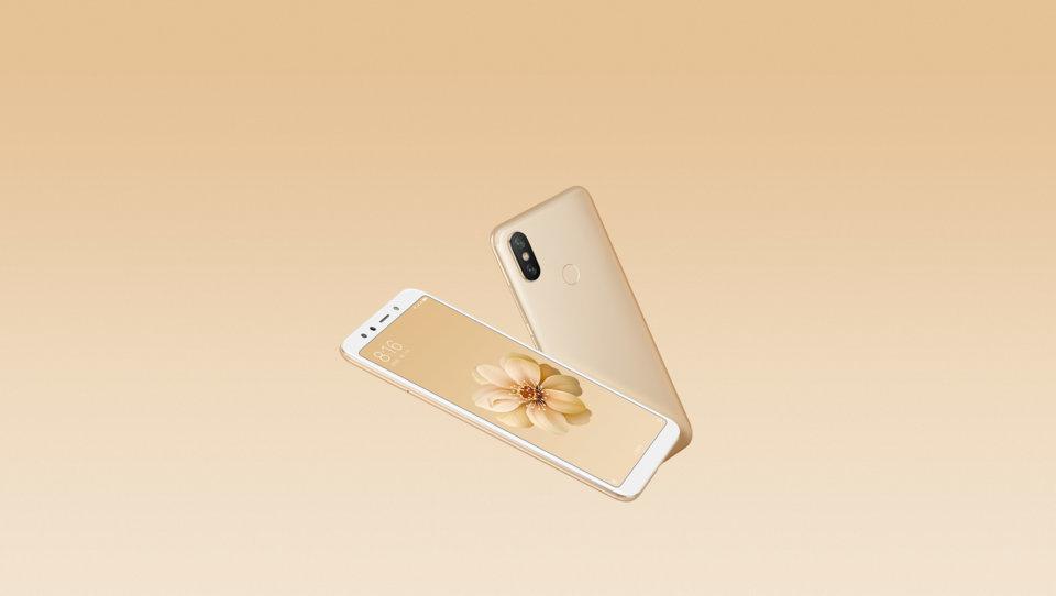 Mi 6X okostelefon 4+64GB, arany
